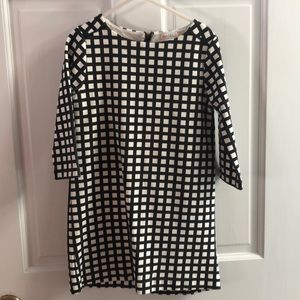 Crewcuts Black and White Trellis Pattern